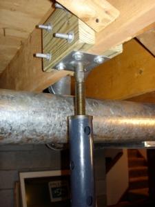 Lolly Column Attachment