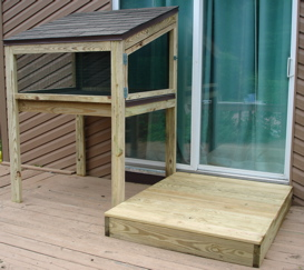 Dog Pen and Platform