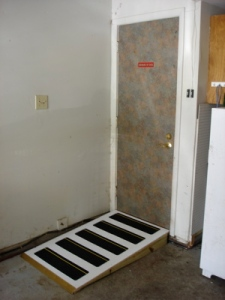 Handicap Accessible Garage Ramp