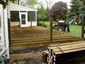 Deck Fully Framed