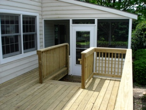 Completed Deck - View 1
