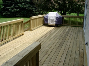 Completed Deck - View 2