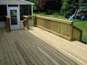 Completed Deck - View 3