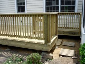 Completed Deck - View 4