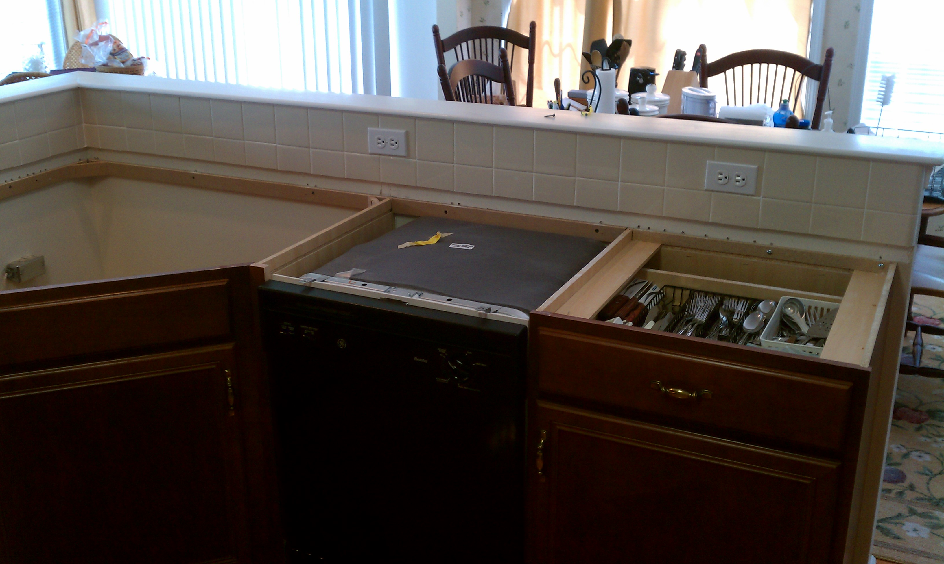 Dishwasher Granite Countertop : Granite Countertops & Under Cabinet Lighting West Chester, PA ...