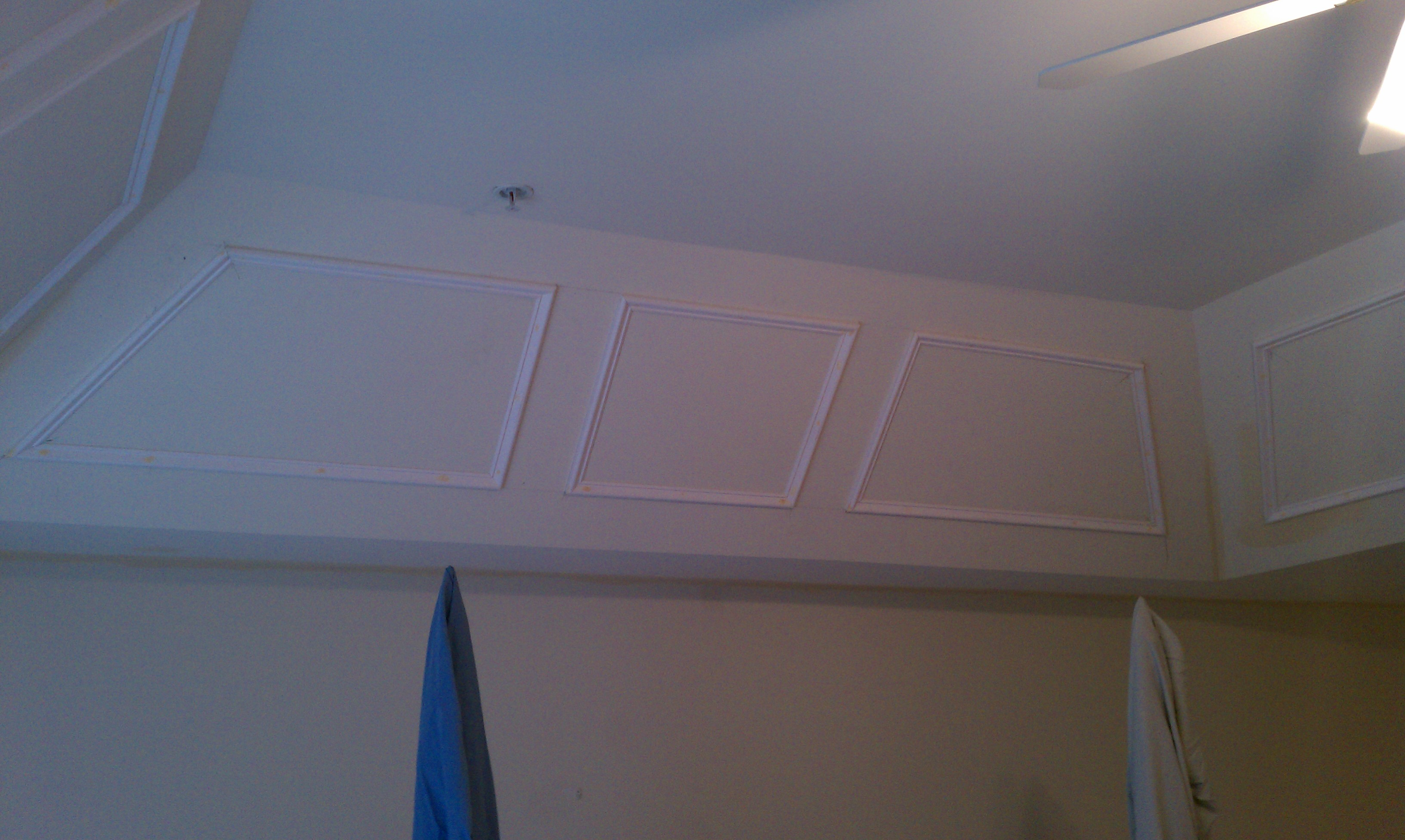 Tray Ceiling Molding: Master Bedroom Painting & Molding